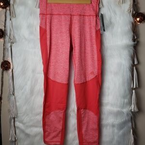 NEW Adidas 7/8 Tight High Rise Pink Leggings